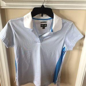 Adidas climate cool breathable golf shirt